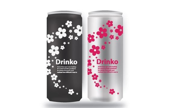 Energy Drink Vector Can - vector #174821 gratis