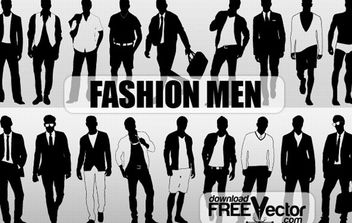 SilhouetteFashion Men - Free vector #174841