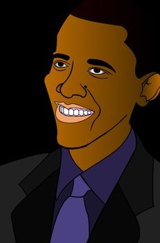 Barack Obama - vector gratuit #175171