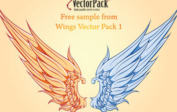 Free Wing Vector Sample - vector gratuit #175251