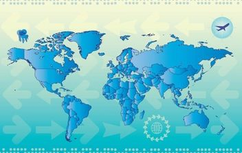 World Map Countries - vector #175291 gratis