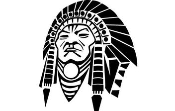 Indian Chief Vector Image - Kostenloses vector #175461