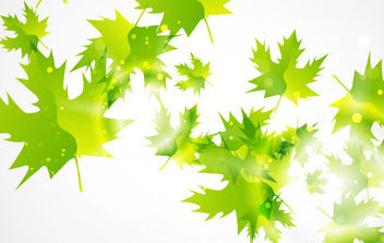 Abstract Leaf Background - vector #175481 gratis