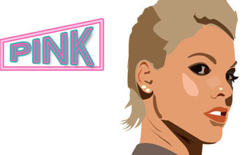 Pink - Free vector #175541