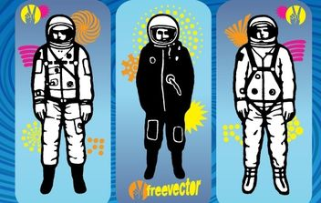 Astronaut Vector Graphics - Free vector #176131