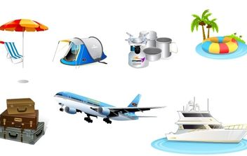 Travel - vector gratuit #176151
