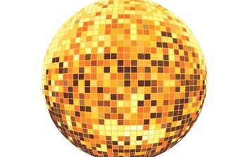Disco ball - Free vector #176211