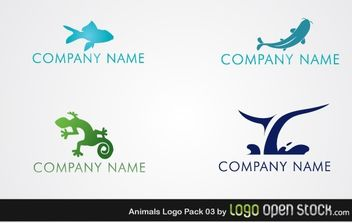Animal Logo Pack 03 - бесплатный vector #176311