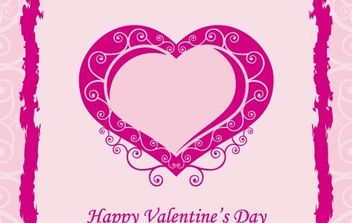 Free Valentine Vector Art Heart - Free vector #176371