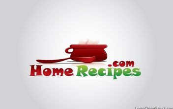 Home Recipies and Cooking Logo - бесплатный vector #176751