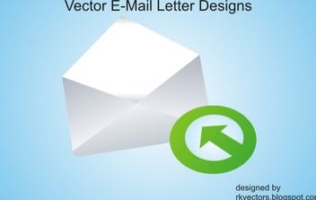 Vector Email Letter - Free vector #176761