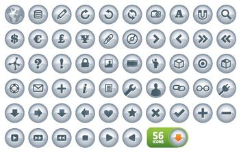 N-Chrome icons V2.0 - vector gratuit #176981