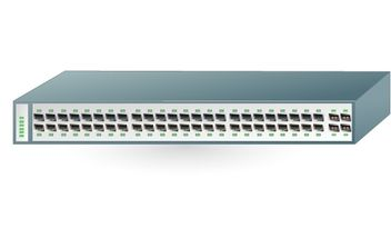Ethernet Gigabit Switch - vector #177101 gratis