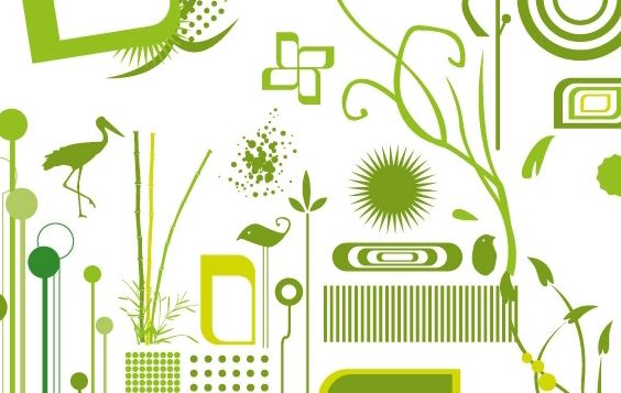 Green objects free vectors - Free vector #177291