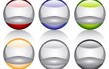 Free Glossy orbs Vector Icon - Kostenloses vector #177451