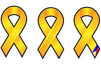 Yellow Ribbons - vector gratuit #177681