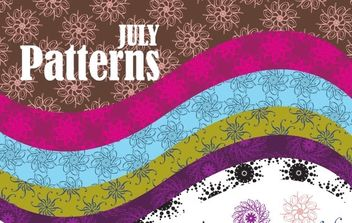 Vector Patterns - vector gratuit #177791
