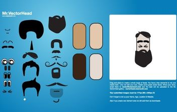 VectorHead - mr. potato head idea - vector #177931 gratis