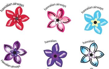 Hawaiian Air - Kostenloses vector #178051