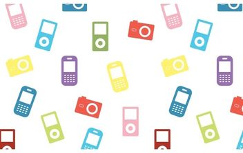 Electronic Devices Icons - vector #178131 gratis