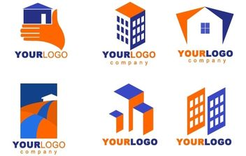 Real Estate logos - vector #178171 gratis