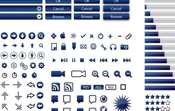 165 Vector Icons(5 colors) - Kostenloses vector #178851