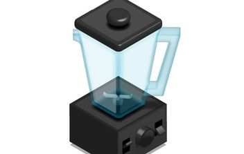 Free Vector: High Speed Blender - Free vector #178861