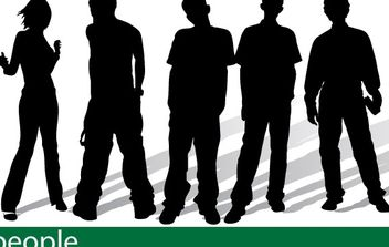 People - vector #178891 gratis