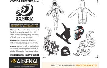 Go Media's Vector Pack 13 - vector gratuit #179021