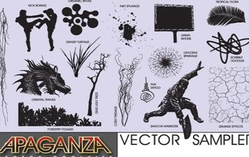 Apaganza Vector CoolKit Sampler - vector gratuit #179201