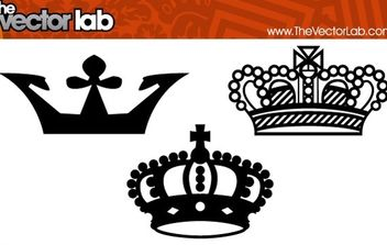 Crowns - vector gratuit #179401
