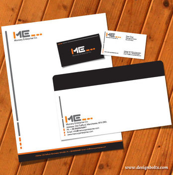 Print Ready Standard Stationary Template - vector #180181 gratis