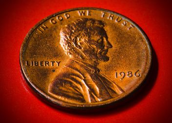 US one cent coin - image #182851 gratis