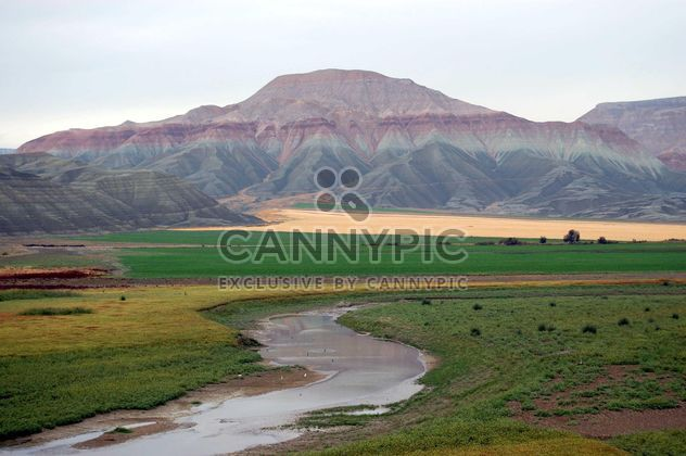 River among mountains at valley, Anatolia, Turkey - Free image #182901