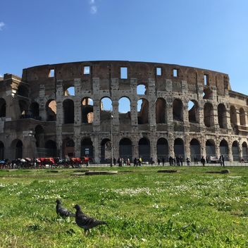 collosseum in rome, italy - бесплатный image #183071