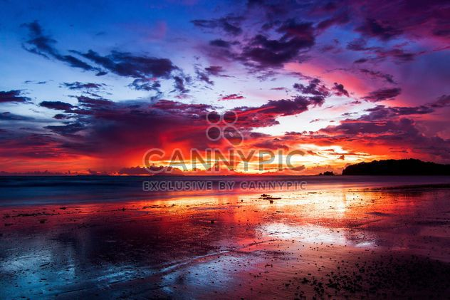 Colourful sunset - Free image #183511