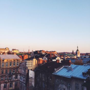 View on roofs of Lviv - бесплатный image #183531