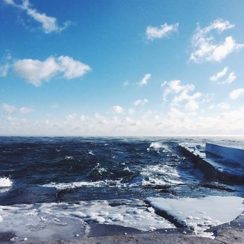 Sea in sunny day - бесплатный image #183551