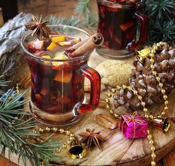 mulled wine in the cup - image gratuit #183571
