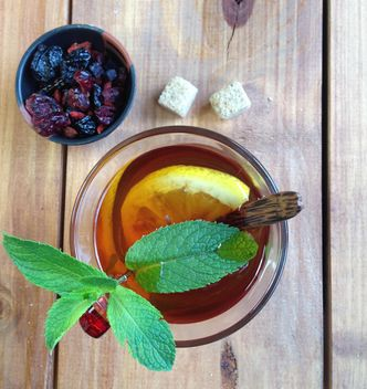 Cup of tee with mint - Free image #183601