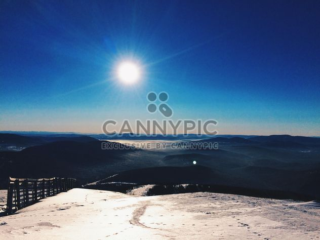 Winter landscape in mountains, Siberia - Free image #183971
