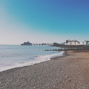 Beach in Eastbourne - Free image #184071