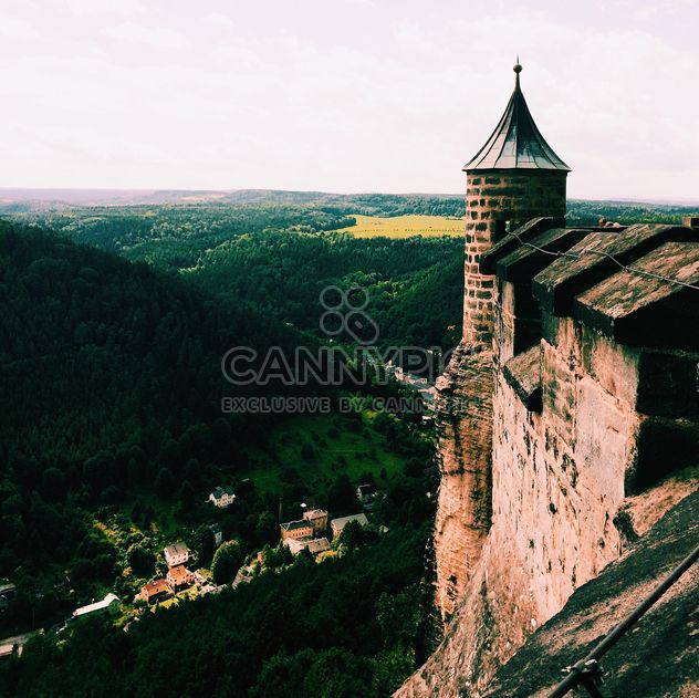 Amazing landscape with old fortress, Germany - image #184131 gratis