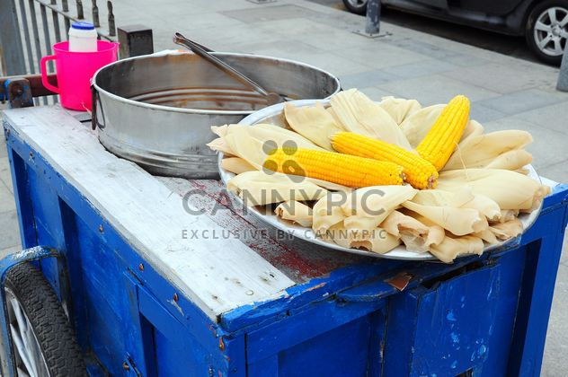 corn cart at street - image #185941 gratis