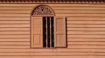 Retro wooden window - Kostenloses image #186451