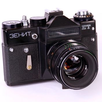 Old Zenit camera - image #186731 gratis