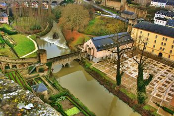 Panoramic view of Luxembourg - image #186801 gratis