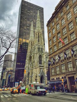St. Patrick's Cathedral in New York City - Free image #186841