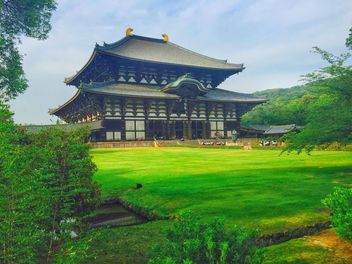 Todai-ji Temple in Nara - бесплатный image #186861