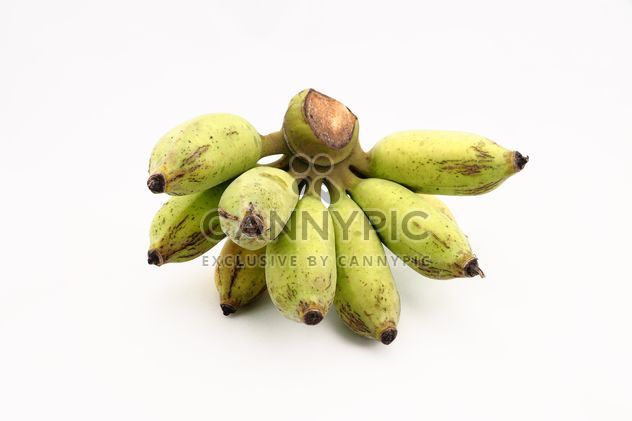 Banana on white background - Free image #186941